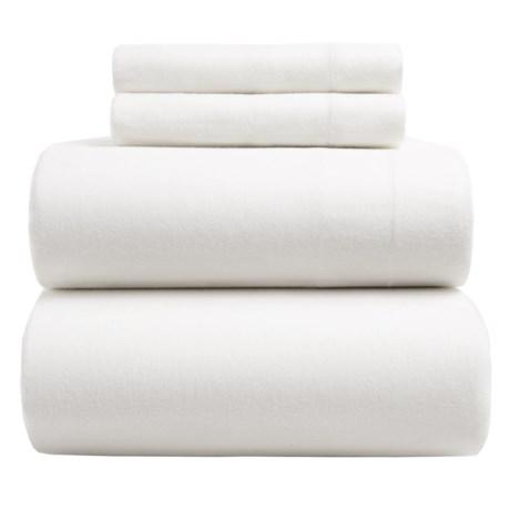 Wulfing Dormisette Luxury Flannel Sheet Set - Queen