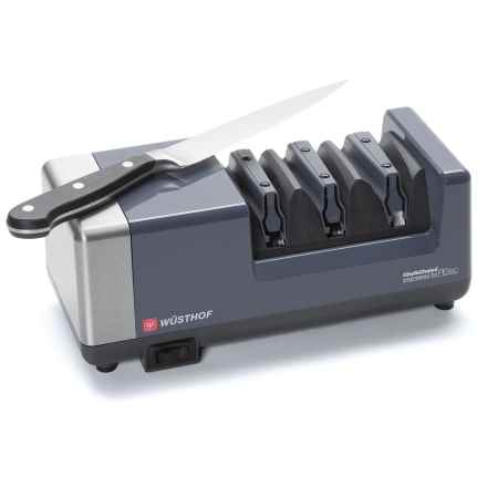 Wusthof by Chef's Choice PEtec Professional Electric Sharpener in See Photo - Closeouts