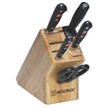 Wusthof Classic Knife Block Set - 6-Piece in See Photo - Closeouts