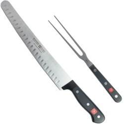Wusthof Gourmet Super Slicer Carving Set - 2-Piece in Black