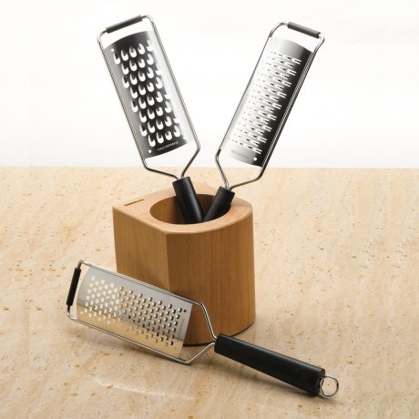 Wusthof Grater Set - Stainless Steel, 4-Piece in See Photo