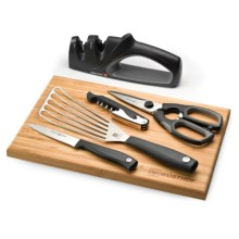 Wusthof Silverpoint II Kitchen Essentials Set - 6-Piece in Black - Closeouts