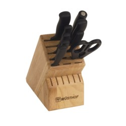 Wusthof Silverpoint II Knife Block Set - 10-Piece in See Photo
