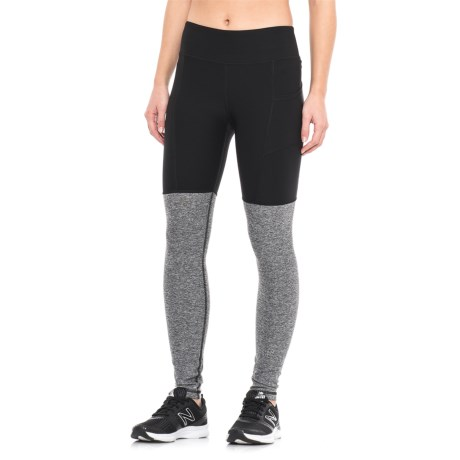 X by Gottex Color-Blocked Leggings (For Women) in Black