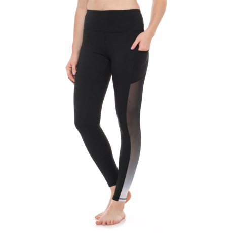 X by Gottex Compression Ombre Power Mesh Leggings (For Women)