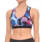 X by Gottex Eyelet Racerback Bra Top - Medium Impact (For Women)