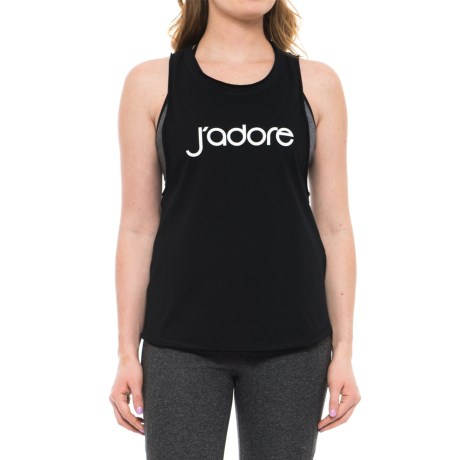 X by Gottex Jersey Tank Top (For Women) in Black