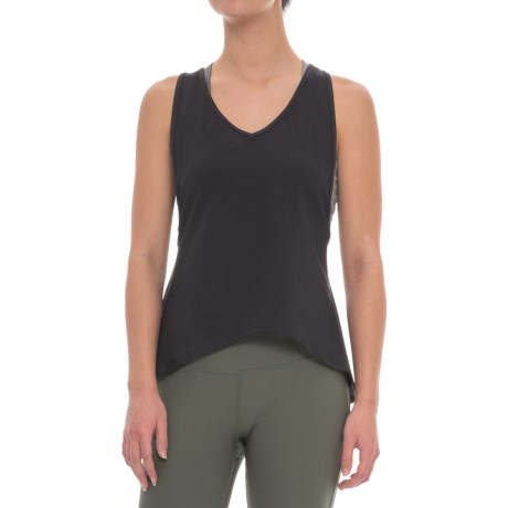 X by Gottex Open-Back Loose Tank Top (For Women) in Black