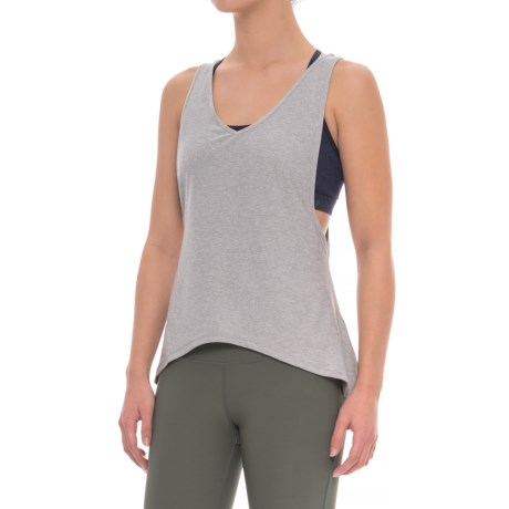 X by Gottex Open-Back Loose Tank Top (For Women) in Light Grey