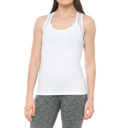 X by Gottex Open-Back Racerback Tank Top (For Women) in White - Closeouts