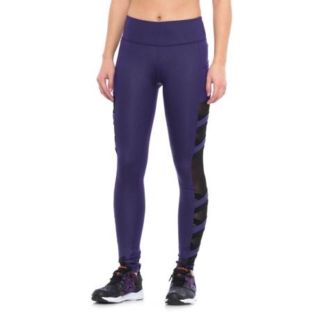 X by Gottex Power Mesh Strap Leggings (For Women)