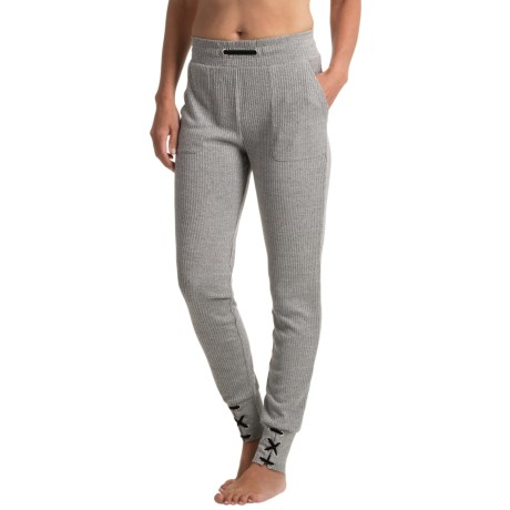 X by Gottex Ribbed Joggers (For Women)