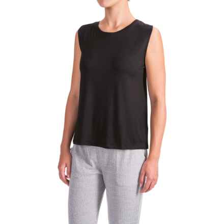 X by Gottex Shoulder Wrap Tank Top (For Women) in Black - Closeouts
