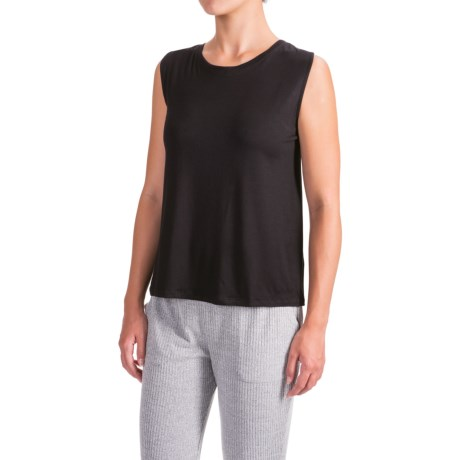X by Gottex Shoulder Wrap Tank Top (For Women) in Black