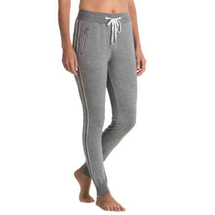 X by Gottex Zip-Pocket Track Pants - Modal (For Women) in Heather - Closeouts