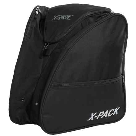 X Pack Boot Backpack in Black - Closeouts