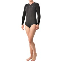 Xcel Hana 2mm Bikini Cut Springsuit - Long Sleeve (For Women) in Graphite/Black - Closeouts