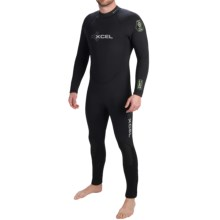 Xcel HECS 7/6mm Full Wetsuit (For Men) in Black - Closeouts