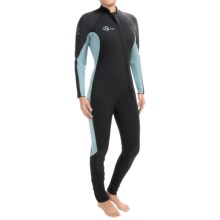 Xcel Hydroflex 3mm Full Wetsuit (For Women) in Black/Bonnie Blue - Closeouts