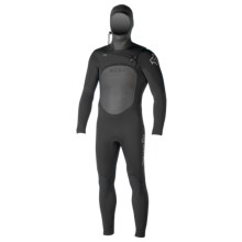 Xcel Infiniti TDC X2 4/3mm Full Hooded Wetsuit (For Men) in Black - Closeouts