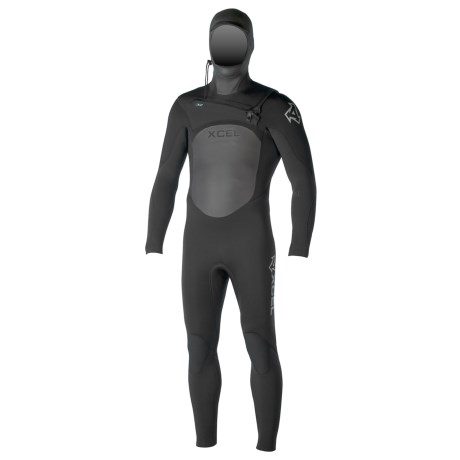 Xcel Infiniti TDC X2 4/3mm Full Hooded Wetsuit (For Men)