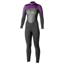 Xcel Infiniti TDC X2 4/3mm Full Wetsuit (For Women) in Black/Eggplant - Closeouts