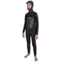 Xcel Infiniti TDC X2 5/4mm Full Wetsuit - Hooded (For Big Kids) in Black - Closeouts
