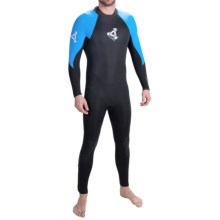 Xcel Thermoflex 3mm Full Wetsuit (For Men) in Black/Blue Aster - Closeouts