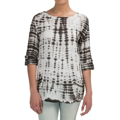 XCVI Abraham Shirt Rayon, 3/4 Sleeve (For Women)