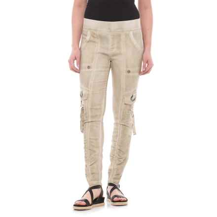 XCVI Adela Pants (For Women) in Cold Pigment Sand - Closeouts