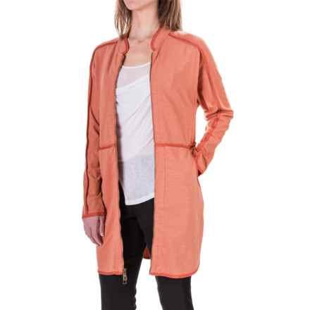 XCVI Alexus Jacket - Stretch Cotton (For Women) in Cedarwood - Closeouts