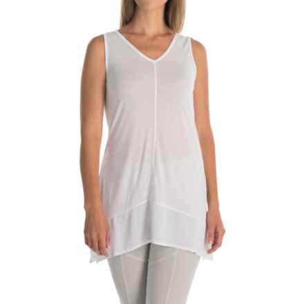 XCVI Arani Shirt - V-Neck, Sleeveless (For Women) in White - Overstock