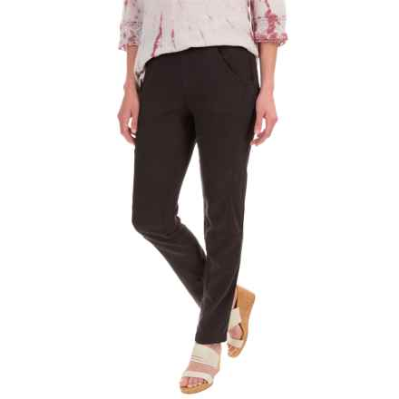 XCVI Barclay Summer Twill Pants (For Women) in Black - Closeouts
