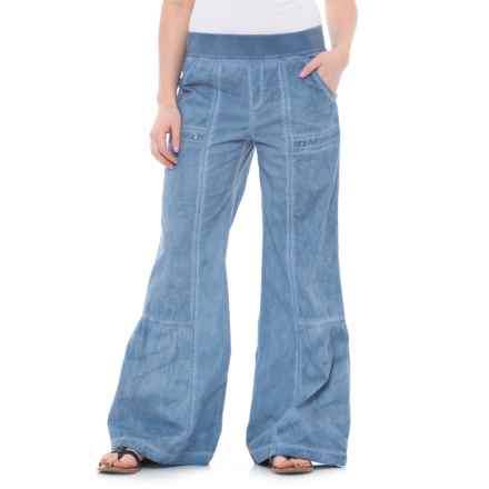 XCVI Besa Pants (For Women) in Cold Pigment Blue - Closeouts
