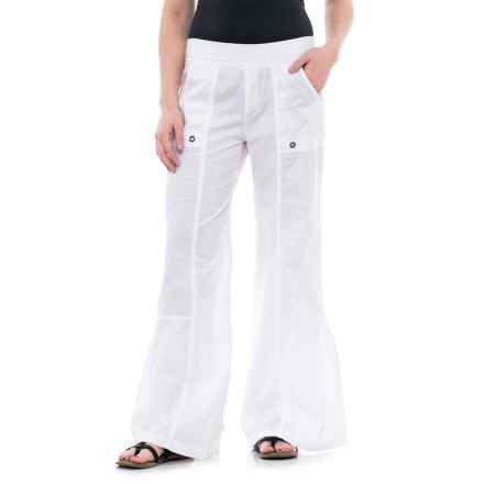 XCVI Besa Pants (For Women) in White - Closeouts