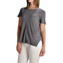 XCVI Camila Shirt - Short Sleeve (For Women) in Rock Pigment - Overstock