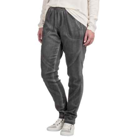 XCVI Camille Summer Twill Pants (For Women) in Oil Wash Nimbus - Closeouts