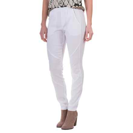 XCVI Camille Summer Twill Pants (For Women) in White - Closeouts