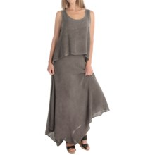 XCVI Cara Voile Dress - Sleeveless (For Women) in Oil Root Wash - Overstock