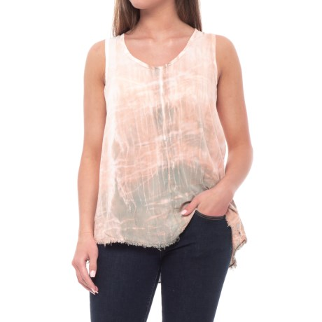 XCVI Cora Voile Shirt - Sleeveless (For Women) in Nile Wash/Green