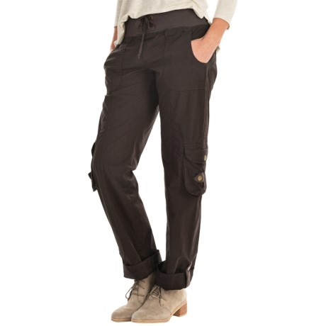 XCVI Django Stretch Ankle Pants (For Women) in Cardoman
