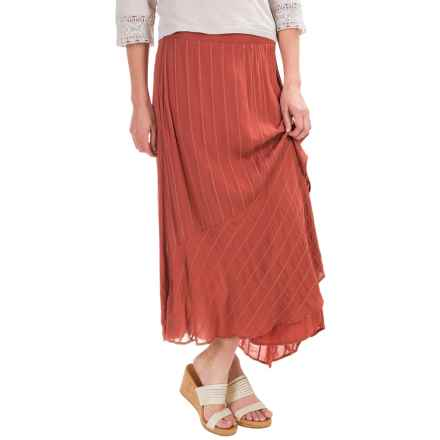 XCVI Gala Alexis Embroidered Skirt - Voile Rayon (For Women) in Rockwood - Closeouts