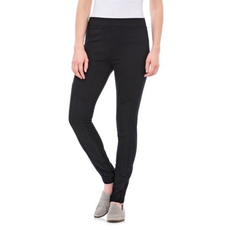 XCVI Joye Pants (For Women) in Union Dye Black
