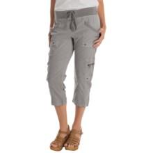 XCVI Keene Cropped Pants (For Women) in Rock Pigment - Overstock