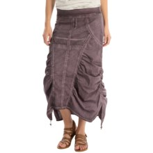 XCVI Magnus Skirt (For Women) in Oil Plum Wash - Overstock