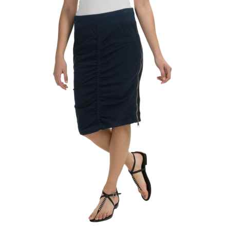 XCVI Marriott Pencil Skirt (For Women) in Royal Navy - Closeouts