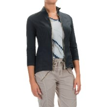 XCVI Maywood Jacket - 3/4 Sleeve (For Women) in Charcoal - Closeouts