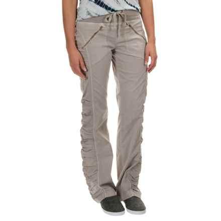 XCVI Mya Pants (For Women) in Silver Cloud - Closeouts