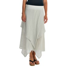 XCVI Oriana Cocoon Gauze Skirt (For Women) in Stucco - Overstock