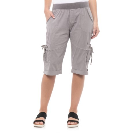 XCVI Rylee Shorts (For Women) in Grey Mist Pigment